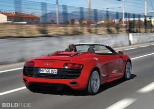 Audi R8 Spyder 5.2