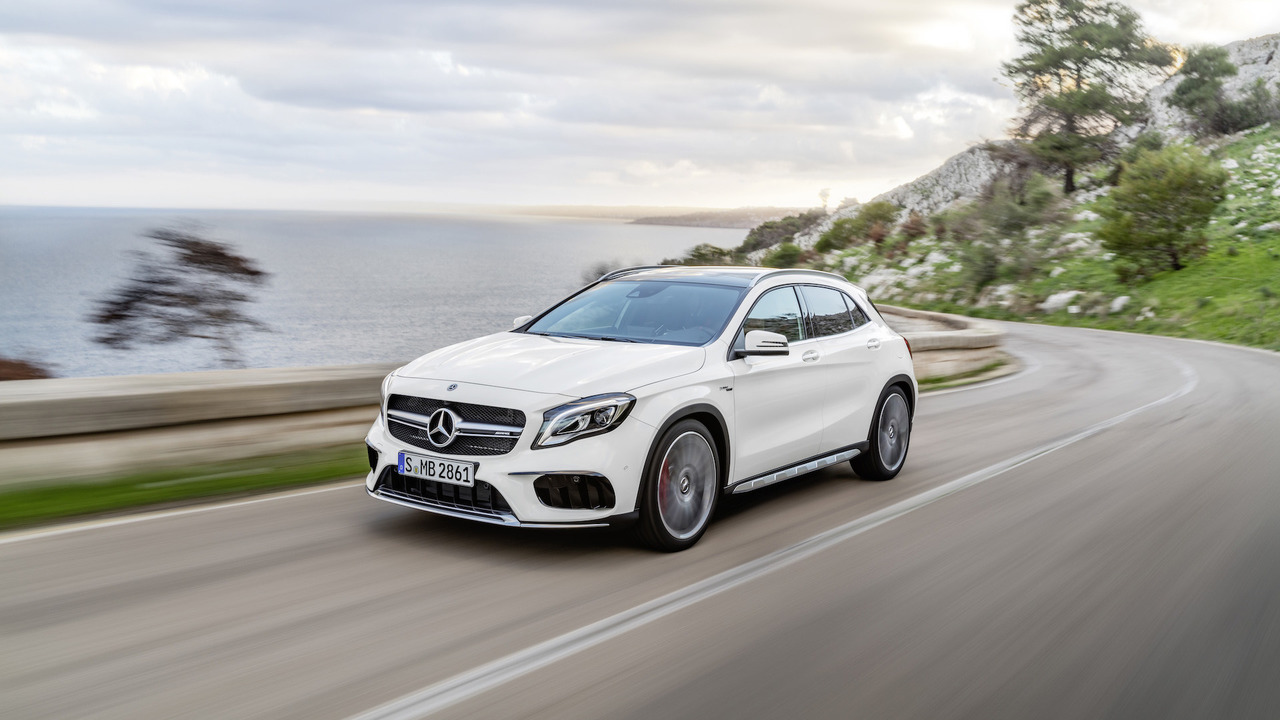 Thread facelifted 2018 mercedes benz gla class mercedes amg gla45 unveiled