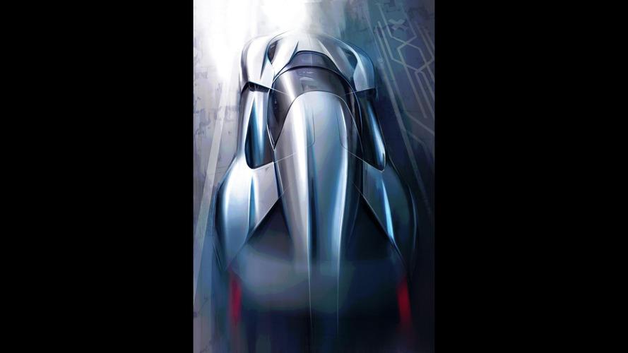 NextEV 1 MegaWatt supercar sketch leaked