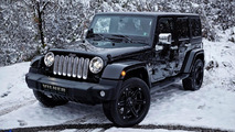 2014 Jeep Wrangler Sahara Unlimited receives premium treatment from Vilner