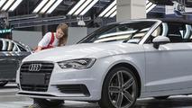 2014 Audi A3 Cabrio production 17.10.2013