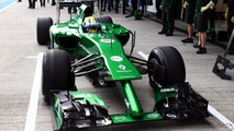 Bizarre double-nosed Caterham CT04 launched - 'Embarrassing' start to F1's brave new era