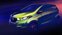Datsun concept design sketch released, set for Delhi Auto Expo debut next month