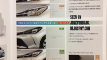 Toyota Vitz/Yaris facelift brochure scan