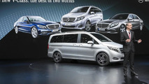 2014 Mercedes-Benz V-Class at 2014 Geneva Motor Show