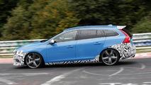 2014 Volvo V60 Polestar spy photo 15.10.2013