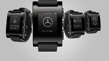 Mercedes & Pebble smartwatch 20.12.2013