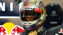 Sebastian Vettel disco ball helmet deisgn 20.09.2013 Singapore Grand Prix
