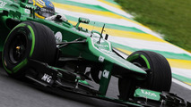 Caterham first in line for 2014 car crash test