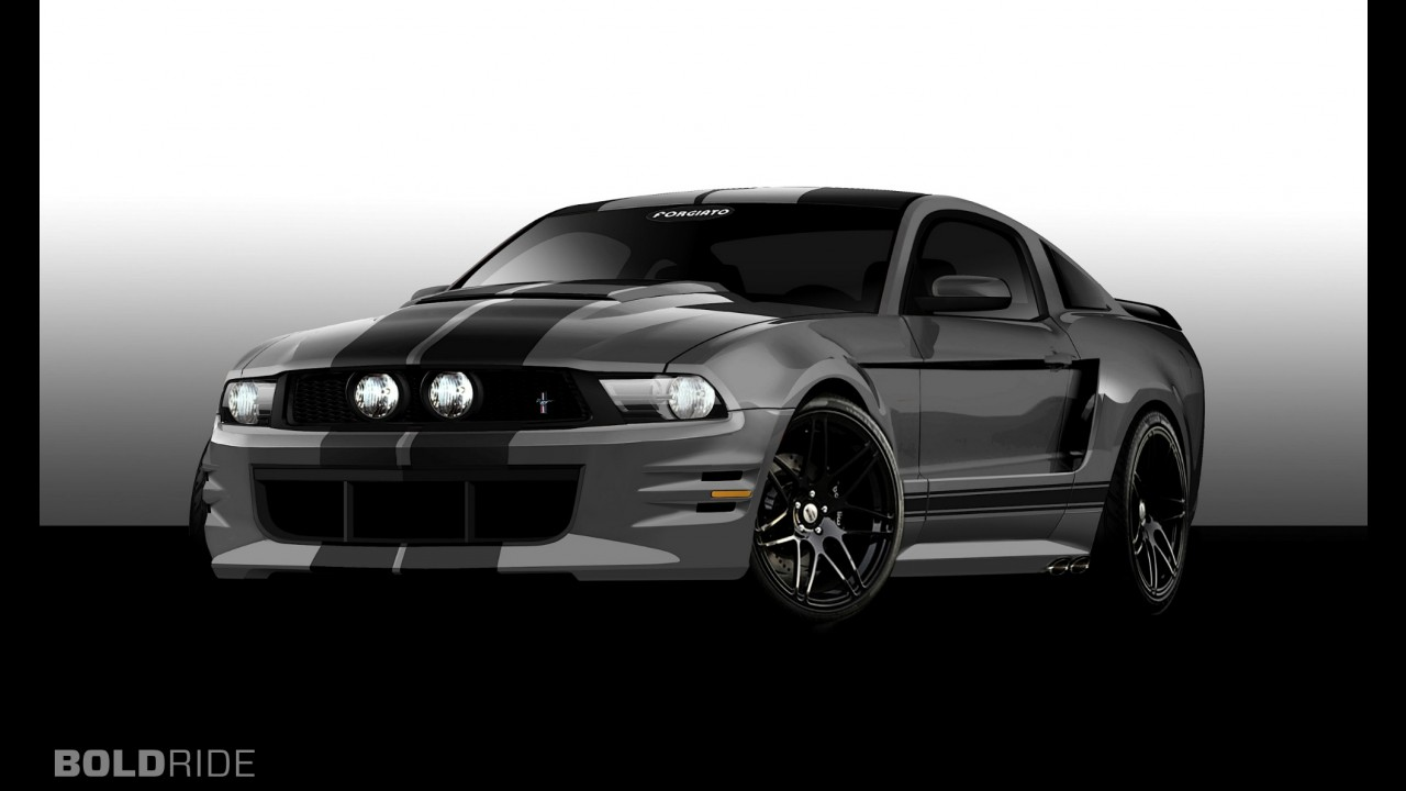 Ford Mustang by Forgiato Wheels