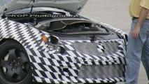 Cadillac CTS-V Engine Bay Spy Photo