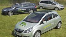 Opel EcoFLEX range