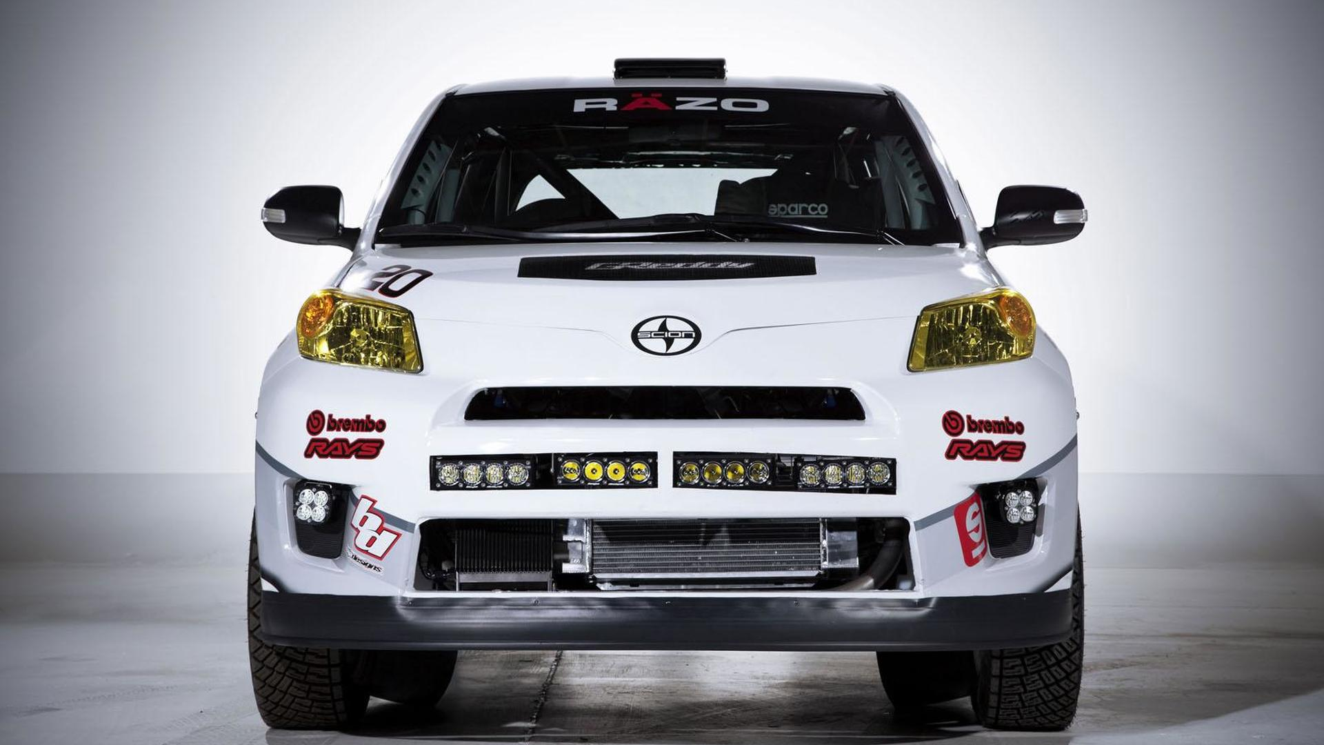 Scion xD rally car unveiled