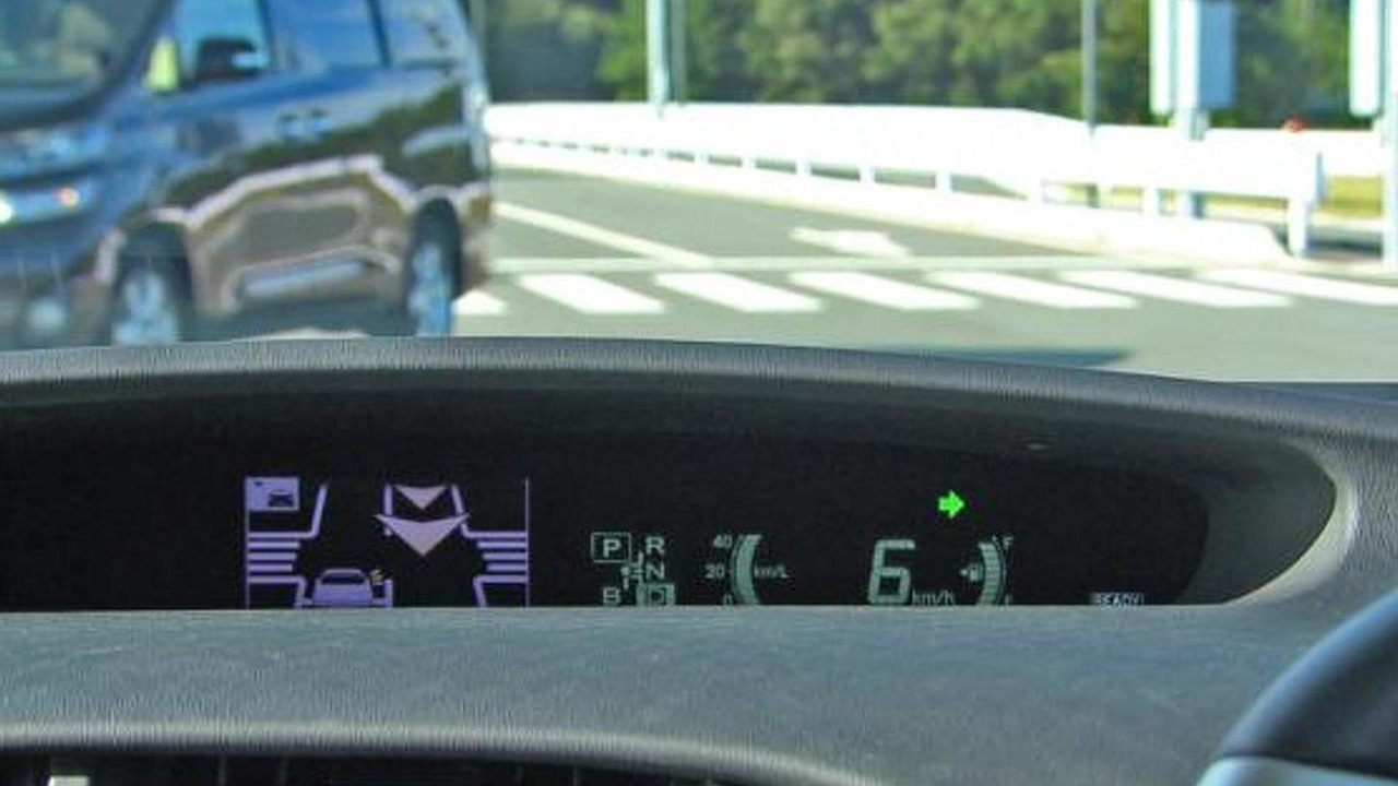 Image of road-to-vehicle communications