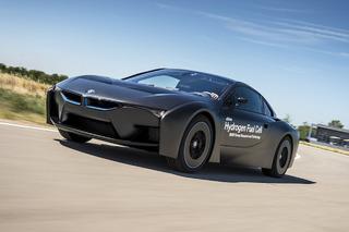 This Weird Looking BMW i8 Runs on Hydrogen