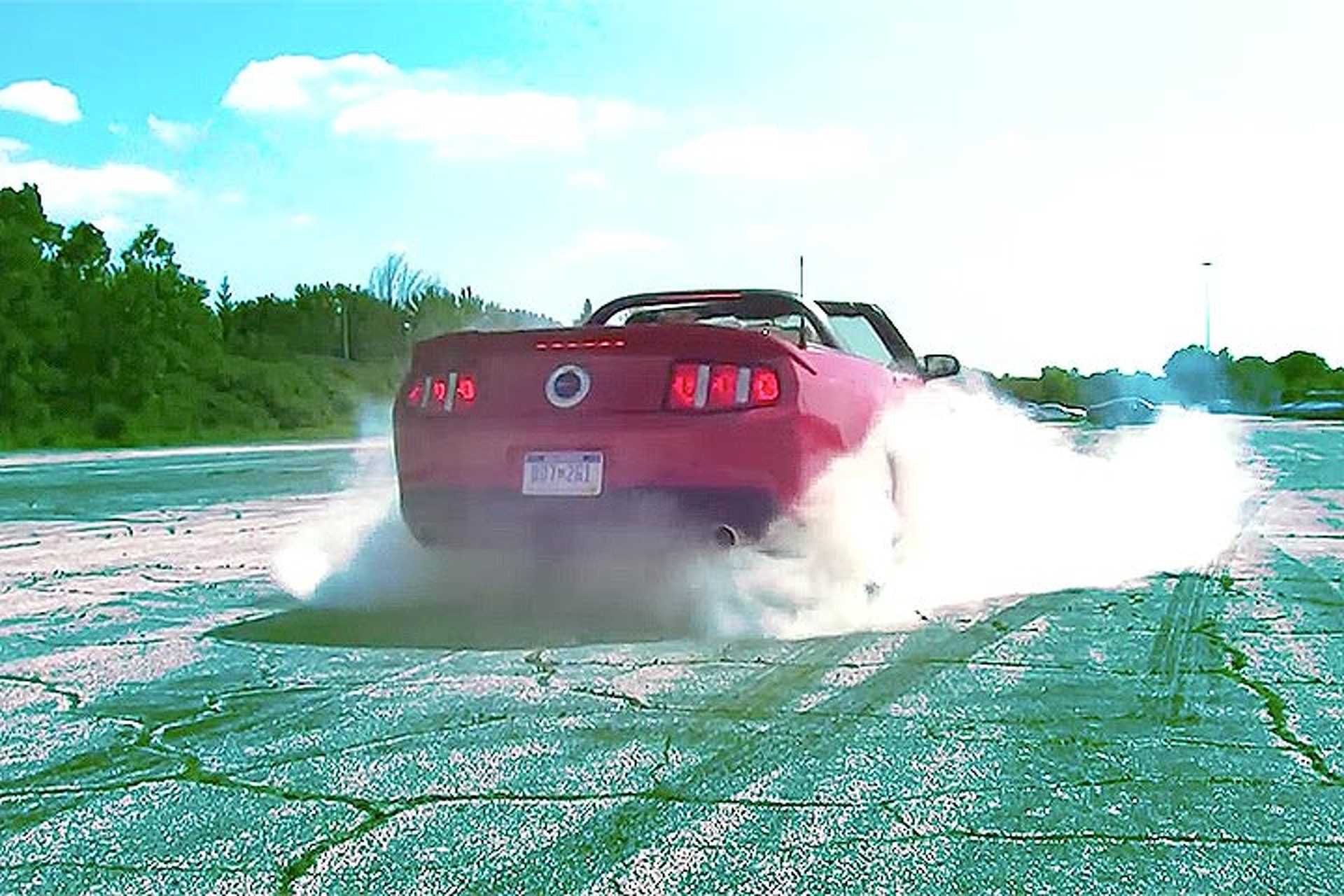 Ever Wondered How to Do a Burnout? Watch This!