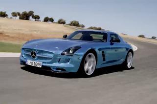 Video: Mercedes SLS AMG Electric Drive Runs Laps of Ascari Race Course