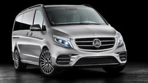 Mercedes Concept V-ision e goes official with 333 HP hybrid system