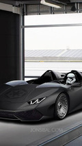 Lamborghini Huracan rendered as Star Wars-themed Huracan J