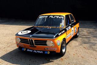Restored Alpina BMW 2002TI to Race at Monterey