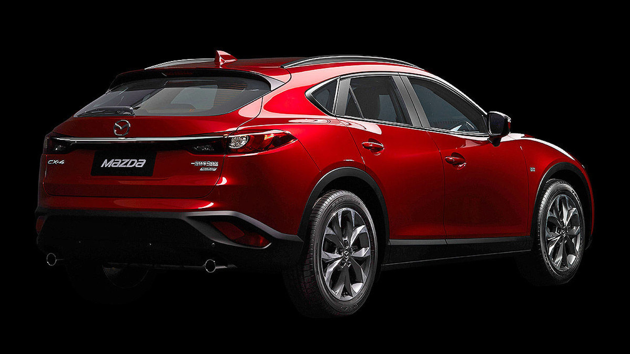 mazda cx 4 officially revealed in beijing. Black Bedroom Furniture Sets. Home Design Ideas
