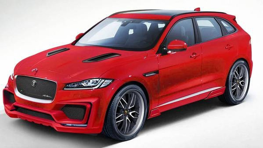 Jaguar F-Pace aero kit by Arden announced