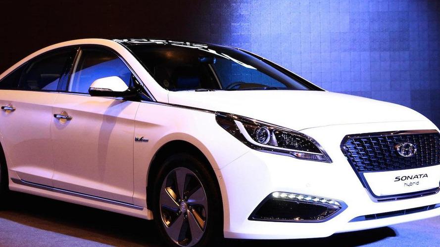 2015 Hyundai Sonata Hybrid debuts in Seoul