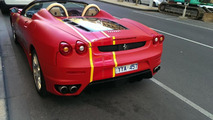 Ferrari F430 Spider delivery vehicle