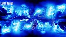 Larte Design previews their Tesla Model S