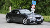 2015 BMW 2-Series Convertible spy photo