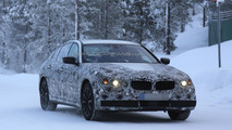 2017 BMW 5-Series spied near the Arctic Circle