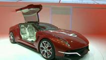 Italdesign Giugiaro Brivido concept live in Geneva, 700, 05.03.2012