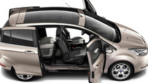 2013 Ford B-Max image reveals sliding doors