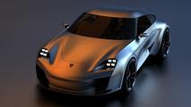 Porsche 911 Rendering Sasha Selipanov