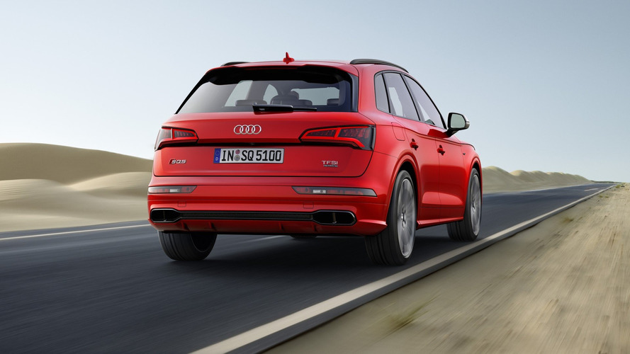 Audi SQ5 Fake Exhaust Tips Do Not Hurt The Sound