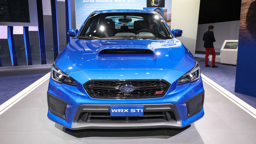 2018 Subaru WRX and STI pack improved tech into fresh-faced package