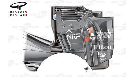 McLaren-Honda MP4-31 wings used in 2016