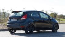 Ford Fiesta test mule spy photo