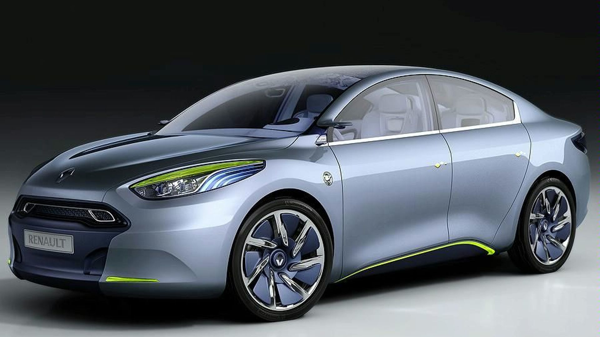Renault Fluence Zero Emission Concept First Look