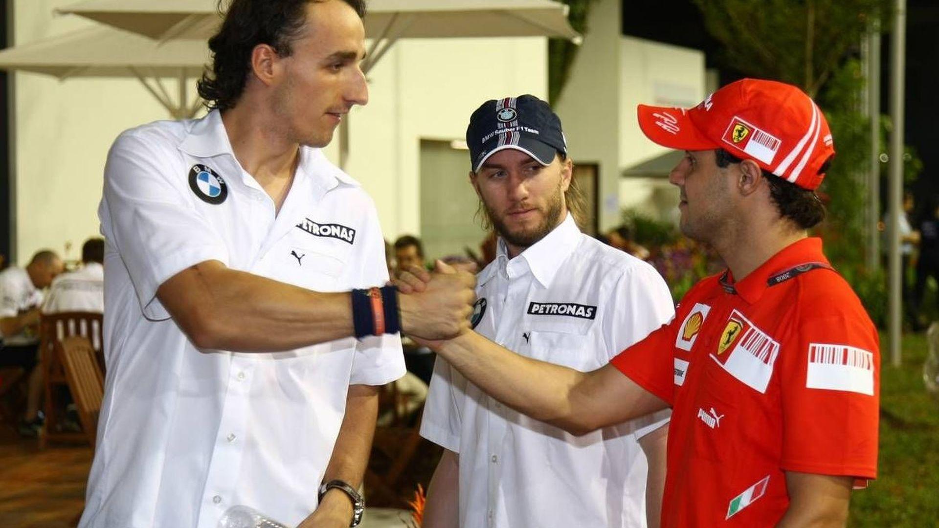 Webber, Kubica, Massa deny team movement rumours