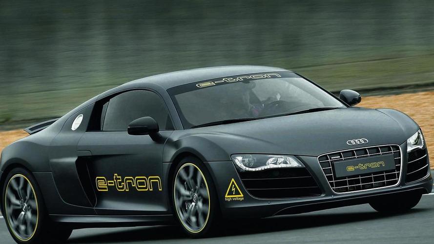 Audi R8 e-tron wins Silvretta E-Auto Rally