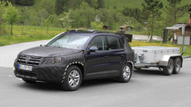 Volkswagen Tiguan facelift testing
