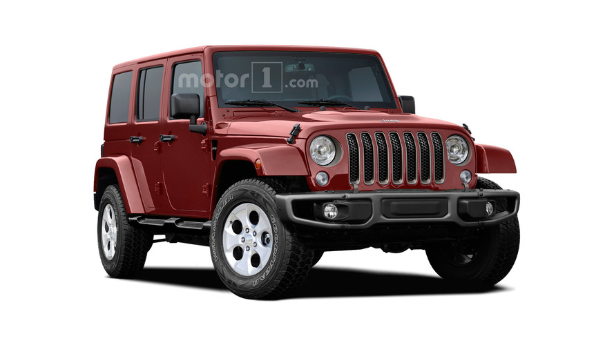 2018 Jeep Wrangler imagined with evolutionary design