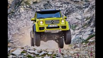 Mercedes-Benz G 500 4x4 Squared Concept