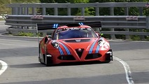 Check out this Frankenstein Alfa Romeo 4C race car