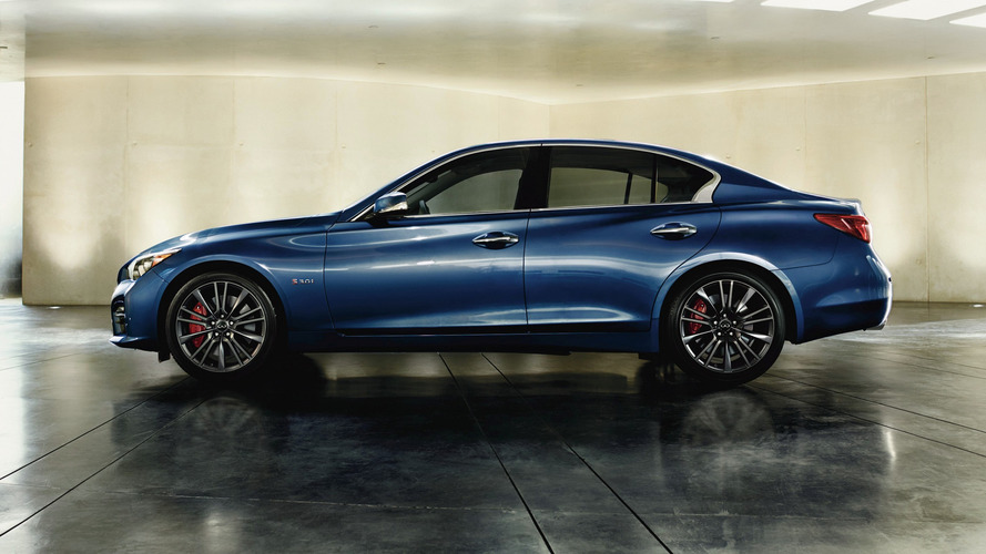 2017 Infiniti Q50 receives tech upgrades in Paris