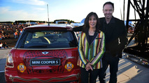 MINI United Festival 2009 - Olivia Harrison with Ian Robertson, Member BMW Group