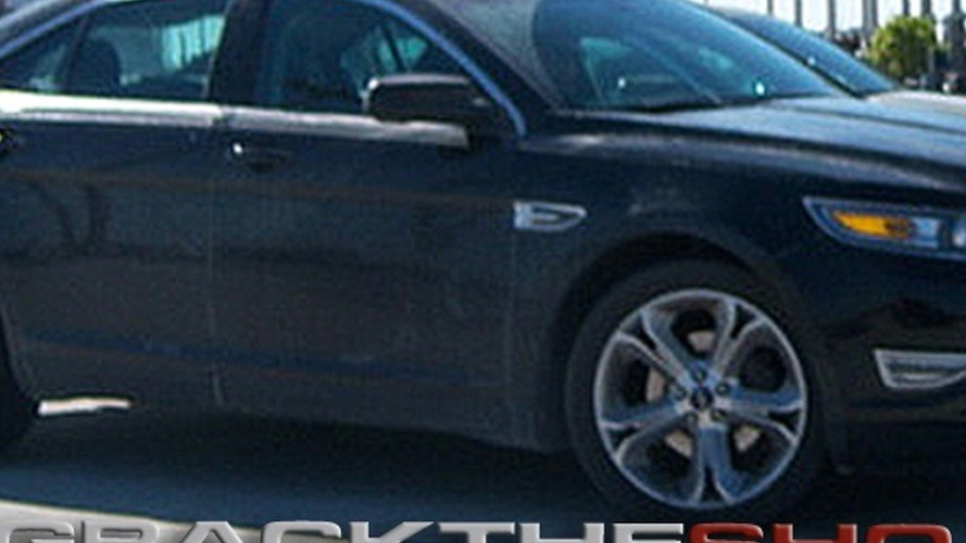 2010 Ford Taurus SHO Spied Naked