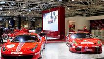 Ferrari 458 Challenge and F430 GTC at Bologna Motor Show 02.12.2010