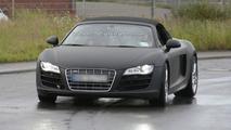 Audi R8 V10 5.2 FSI Spider Spied on Video